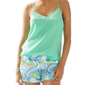 NWT XS Lilly Pulitzer Dusk Top Beach Glass